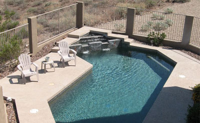 The estate scottsdale arizona for Swimming pool poker